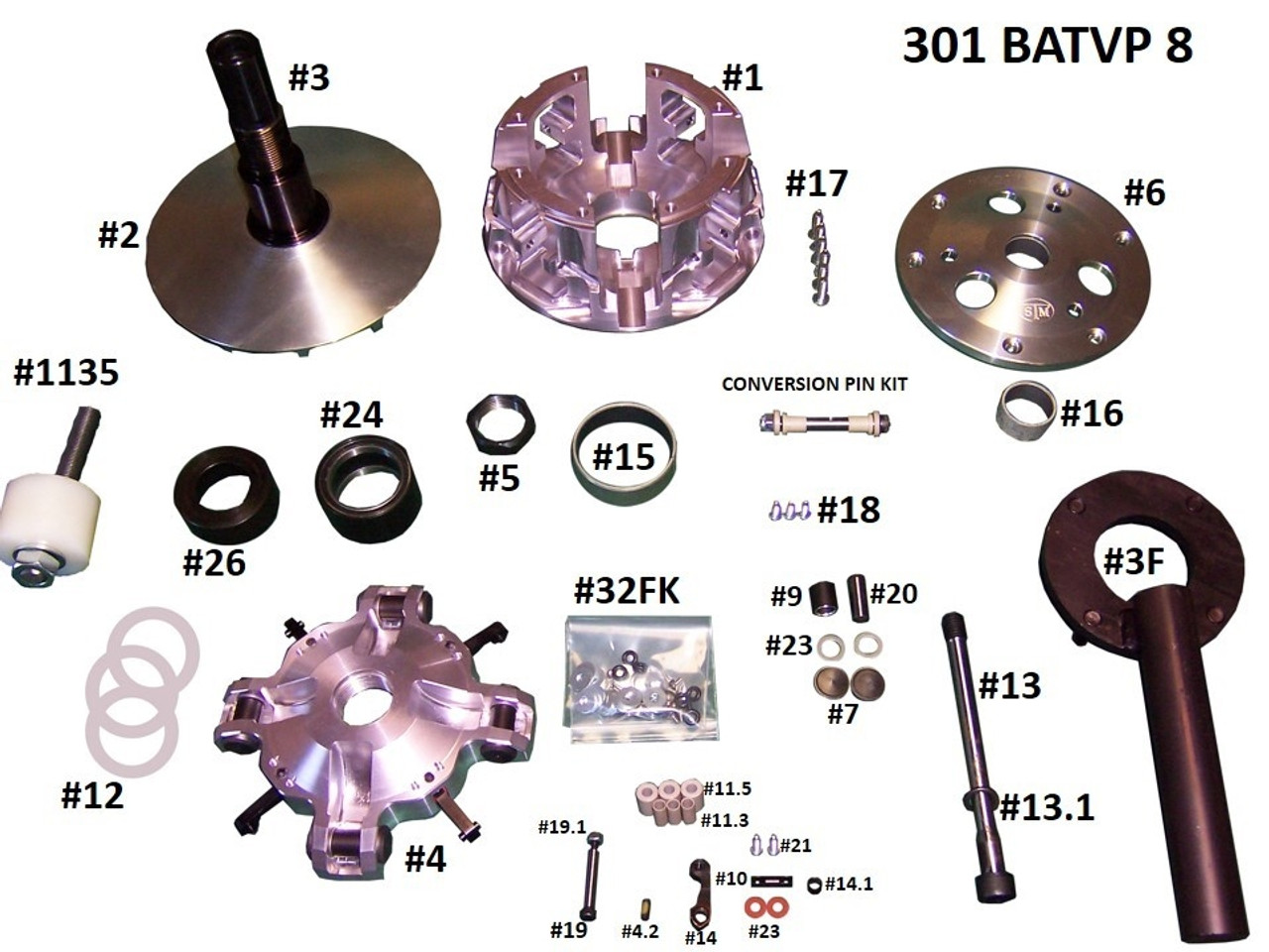 Rage 8 Replacement Components