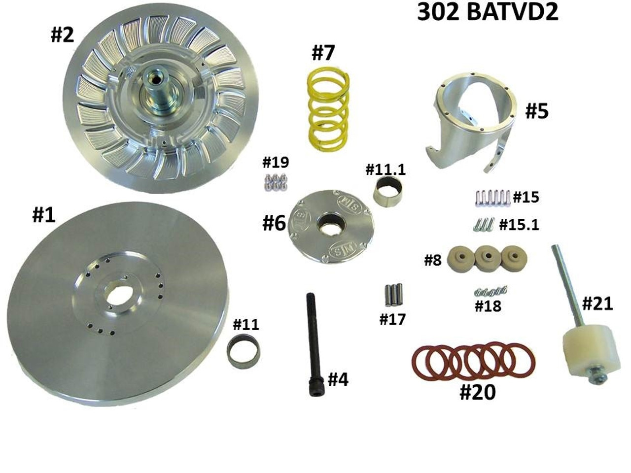 Tuner Secondary Replacement Components