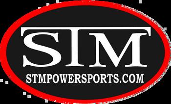 """Large STM Oval Sticker (10"""" x 6"""")"""