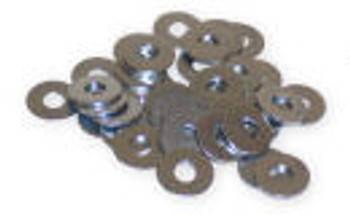 Adjustable Cam Arm Steel Replacement Washers - 30 Piece Set