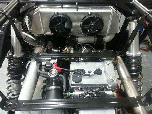K&T RZR 1000 XP Turbo Kit