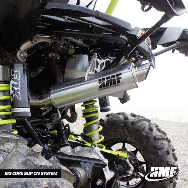 2015 Maverick XDS Turbo Big Core 3/4 System Performance Series HMF Blackout Exhaust