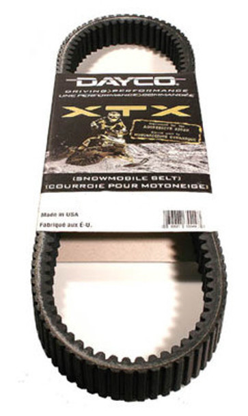 XTX 5038 Dayco Belt Stock Replacement 2009-2010 Z1