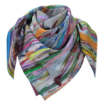 colourful designer scarf