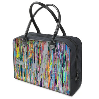 Colorful Laether Holdall by Melsinki
