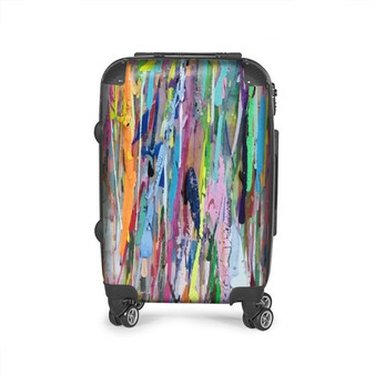 colourful suitcase