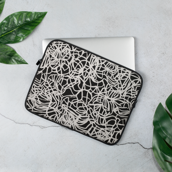 Printed 13 inc laptop sleeve by Melsinki