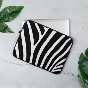 ZEBRA STRIPES - Laptop Sleeve - 13 and 15 in