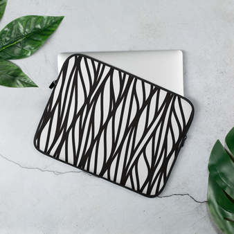 Geometric macbook pro case