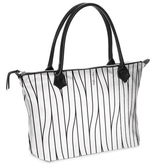 white leather shoulder bag with zipper