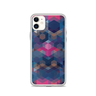 COSMIC SUNSET - Blue iPhone Case