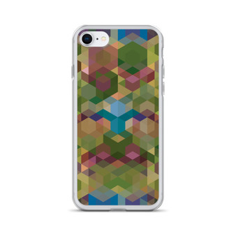 COSMIC SUNSET - Olive iPhone Case