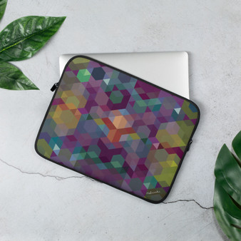 COSMIC SUNSET - Purple Laptop Sleeve