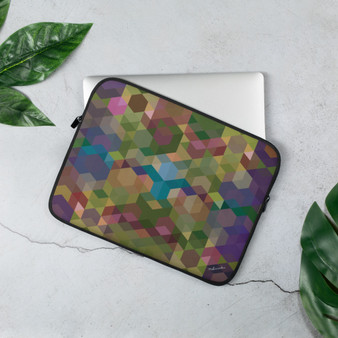 COSMIC SUNSET - Olive Laptop Sleeve
