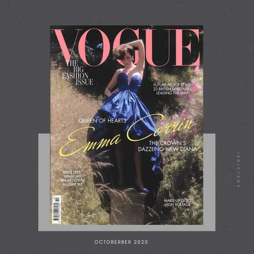 Featured in British Vogue October 2020 issue