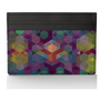 card wallet printed leather