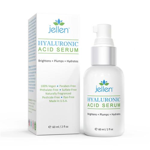 Jellen® Organic Hyaluronic Acid Serum (2 fl oz)