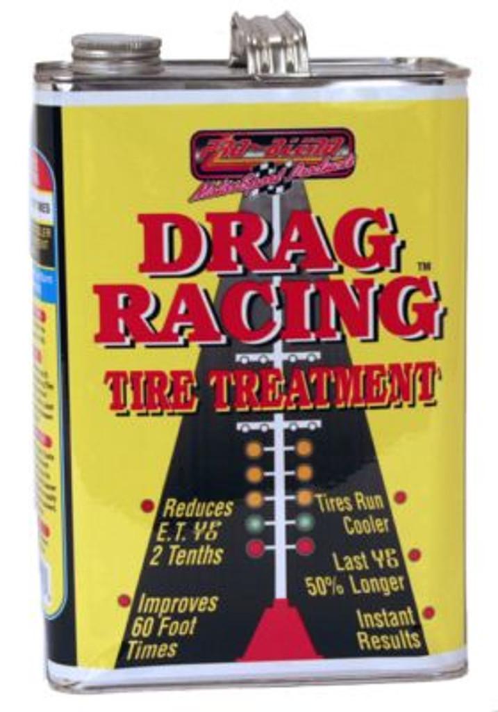 Drag Racing Tire Treatment