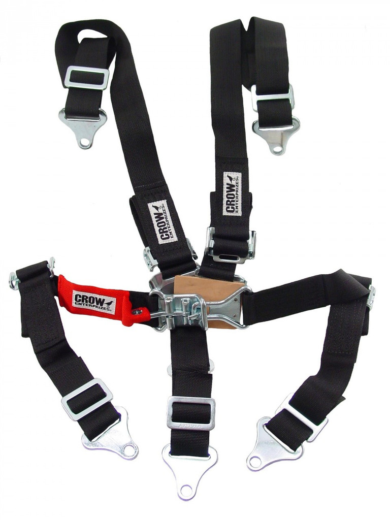 Crow Enterprises Lever Latch Seat Belts