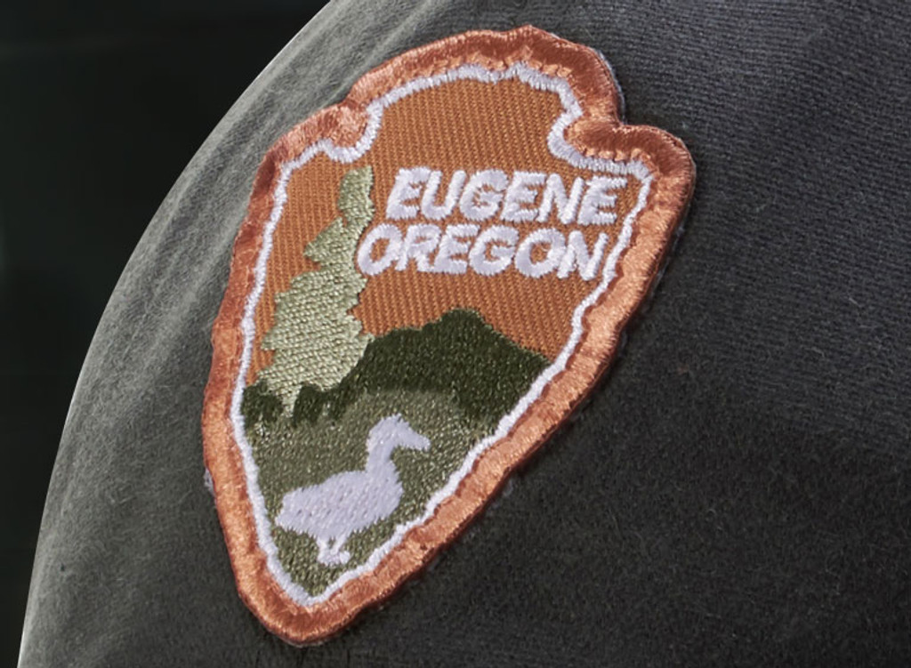 Embroidered patch example