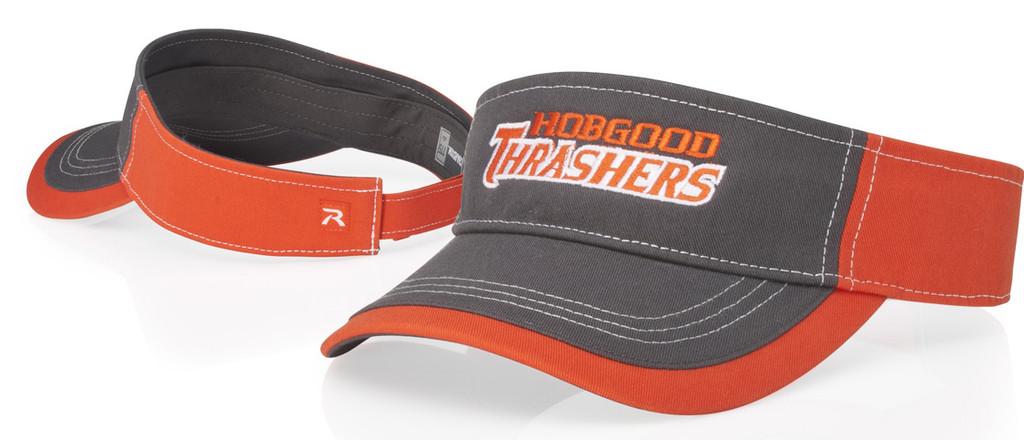 Richardson #775 Charcoal Front w/ contrasting stitching  Adjustable Visor