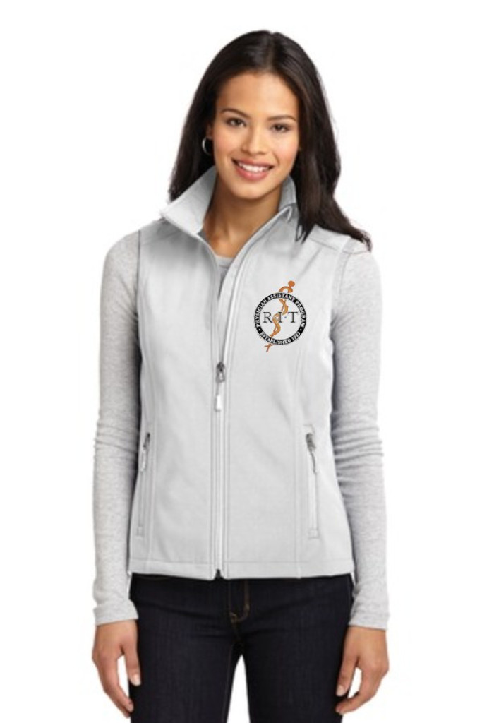 Port Authority® L325 Ladies Core Soft Shell Vest w/ embroidered logo