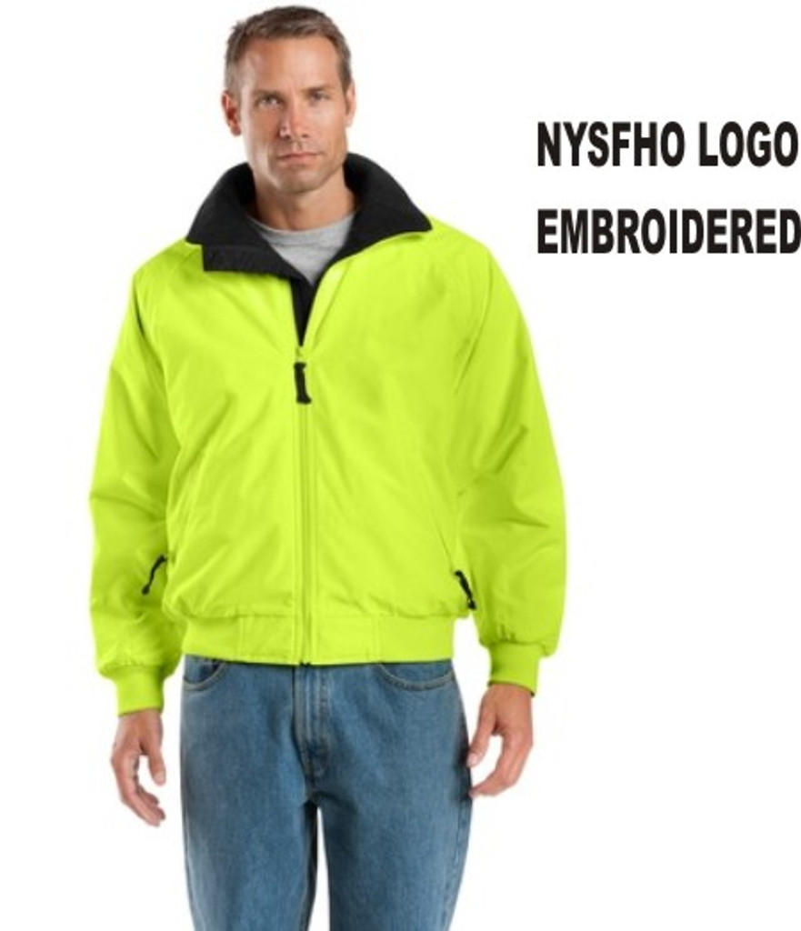 Enhanced Visibility Lined Jacked w/ Embroidered Logo