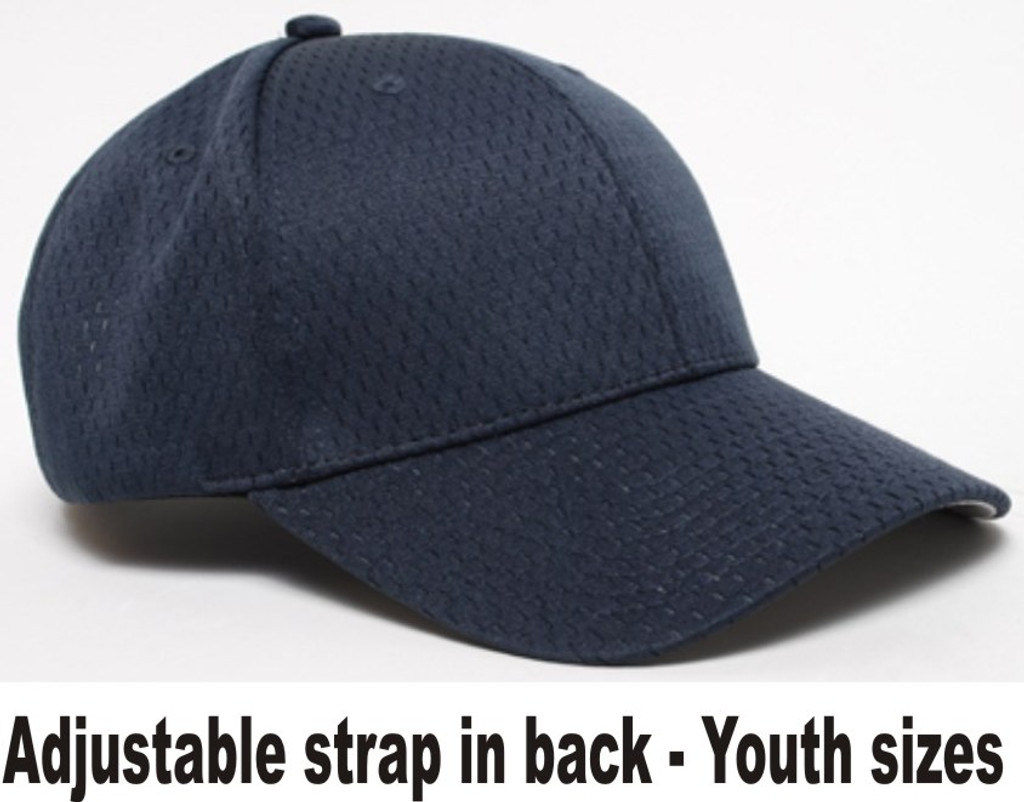 068c16b8b Pacific Headwear 805M-Y, Youth Sized Coolport Mesh Adjustable Baseball Hat