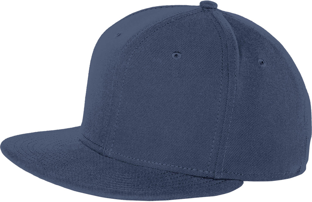 New Era® Original Fit Flat Bill Snapback Cap - Includes Embroidery