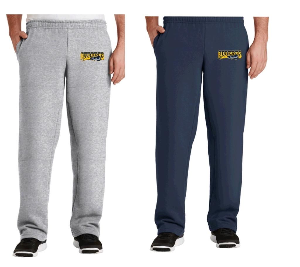Cotton Pants w/ Pockets & Embroidered Victor Softball