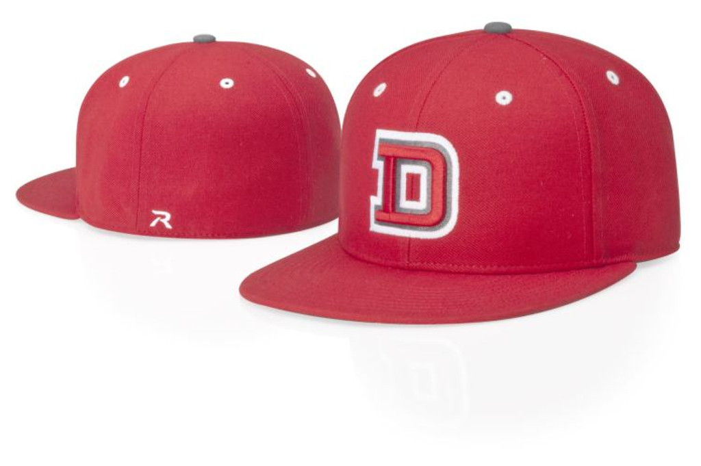 Richardson PTS65-CX Poly-Serge Fitted Baseball Hat, Custom Express