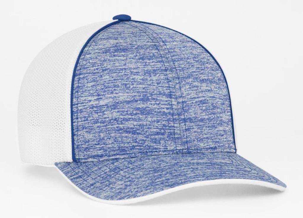 Pacific Headwear 406F Heather Mesh Universal Fit Trucker Hat