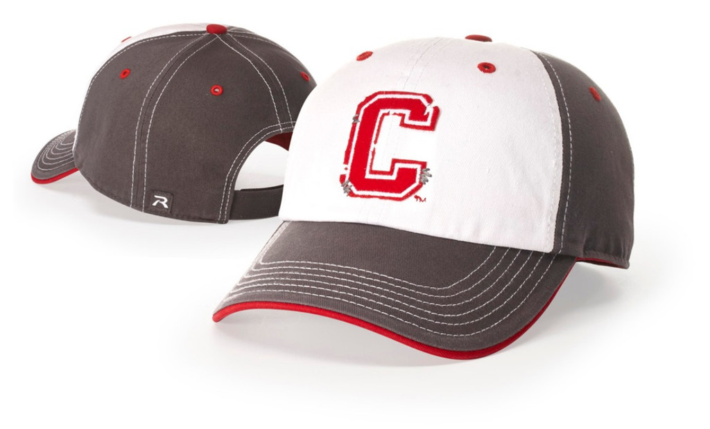 Richardson #322 Garment Washed Charcoal Chino Twill Adjustable Baseball Hat