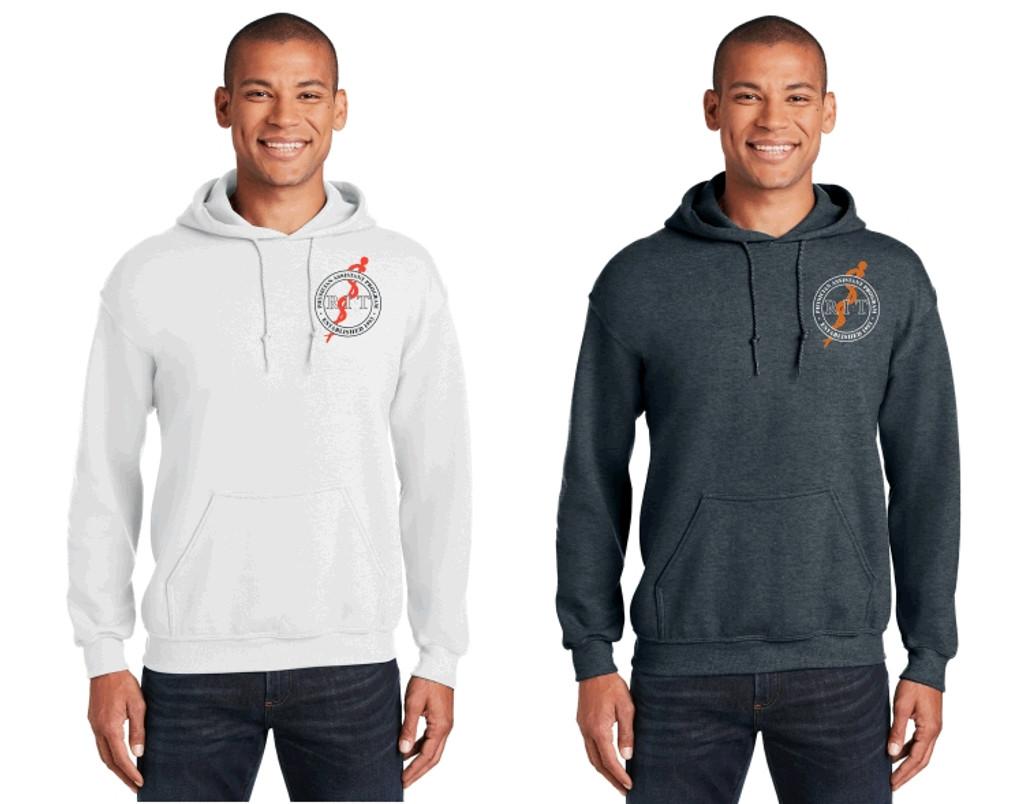 Adult Cotton Hooded Sweatshirt w/ Printed Logo