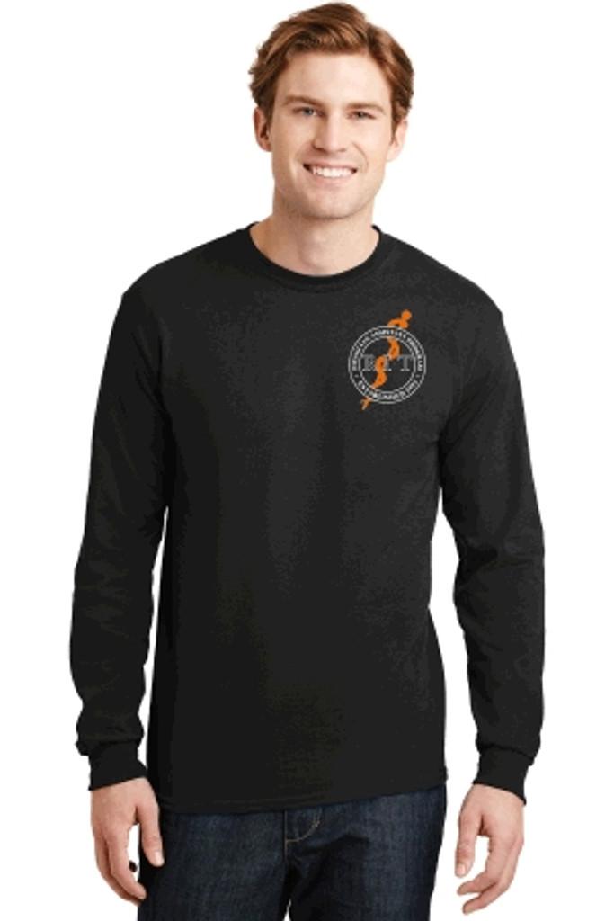 Cotton Long-Sleeve T-Shirt w/ Printed Logo, RITPA