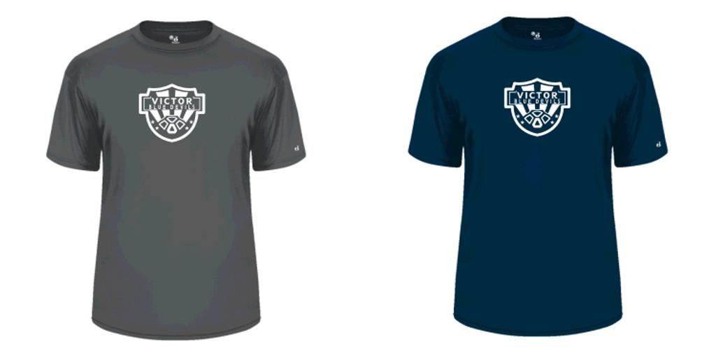 Badger Performance T-Shirt w/ Printed Logo