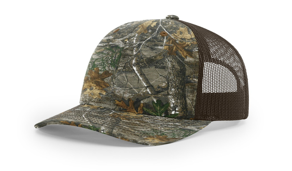 Richardson 112P Printed Snap Back Trucker Hat
