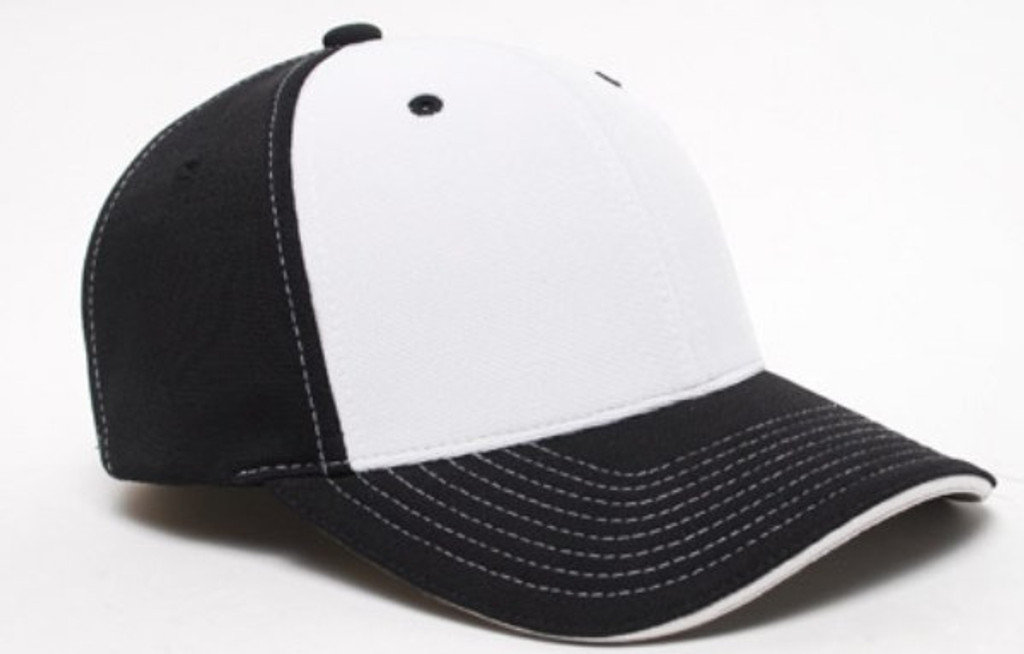 Pacific Headwear 398F M2 Performance 2-tone Universal Fit Baseball hat