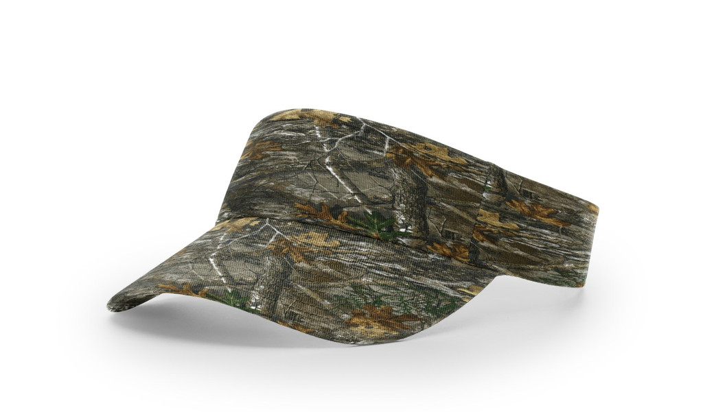 Richardson #848 Camouflage Cotton Twill Visor