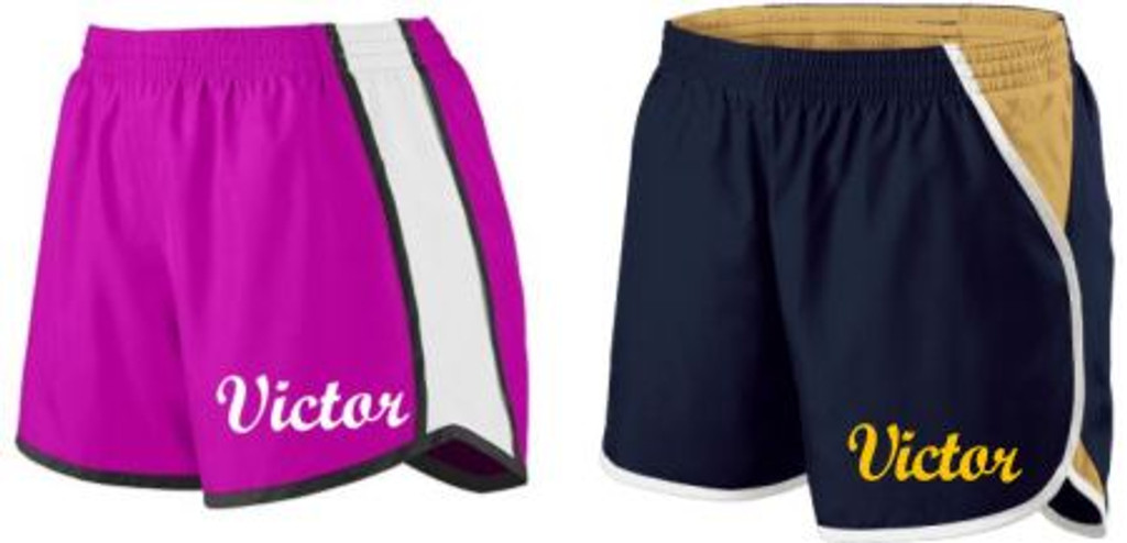 "Ladies' Team Short, 4"" Inseam w/ Printed Logo"