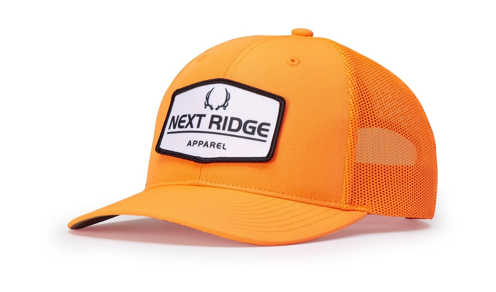 Richardson 882 Blaze Orange Trucker Hat