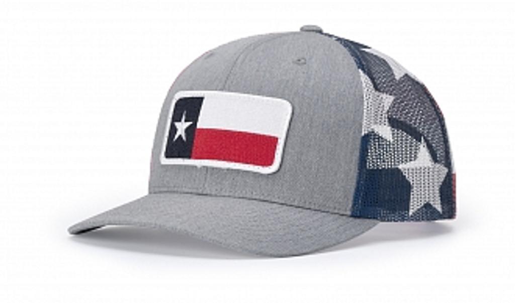 Richardson 112PM Printed Mesh Snapback Trucker Hat