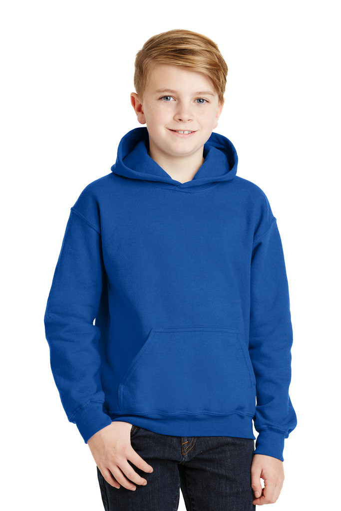 Gildan® 18500B, Youth  Heavy Blend™ Hooded Sweatshirt