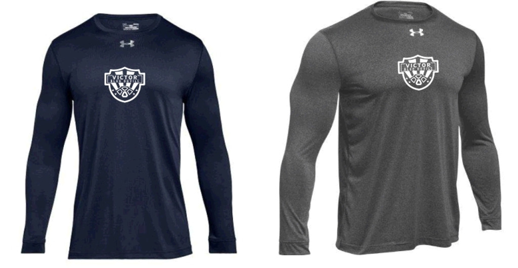Under Armour Long_Sleeve Performance T-Shirt w/ Printed Logo