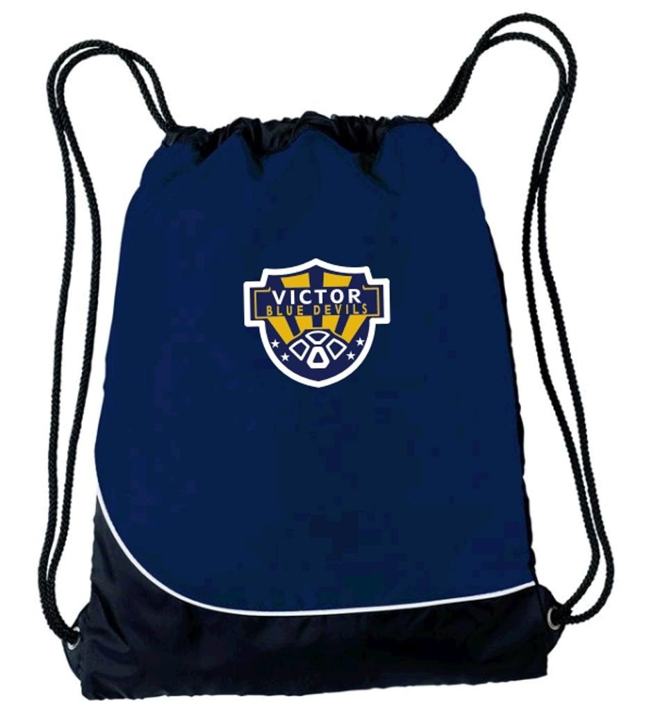 String backpack w/ embroidered logo VSOCCER