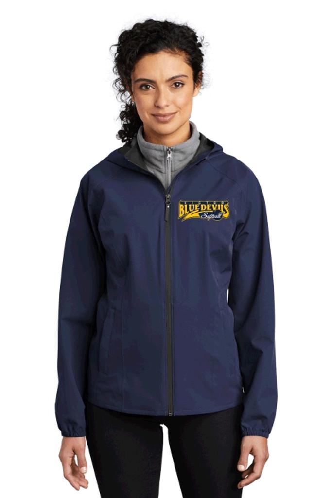 Port Authority ® Ladies Essential Rain Jacket Victor Softball