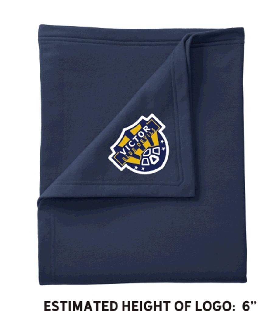 Sweatshirt fleece blanket w/ embroidered logo VSOCCER