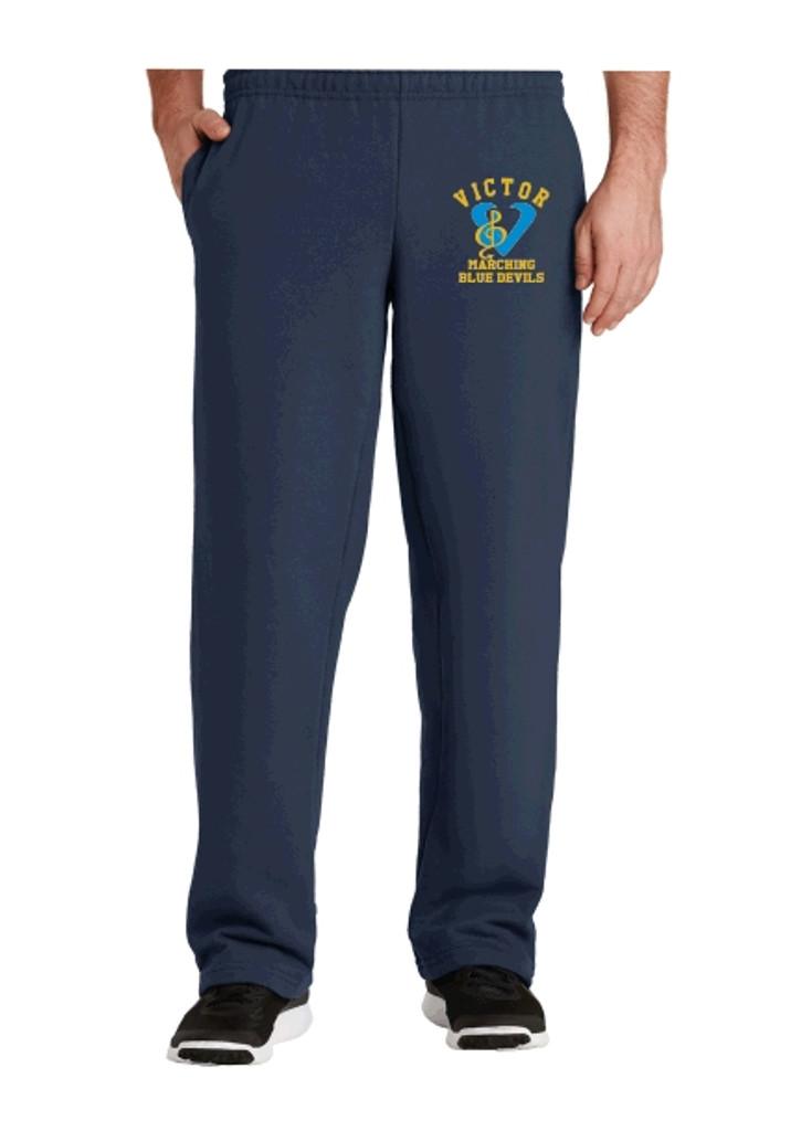 Cotton Pants, Unhemmed w/ Embroidered Logo VBAND