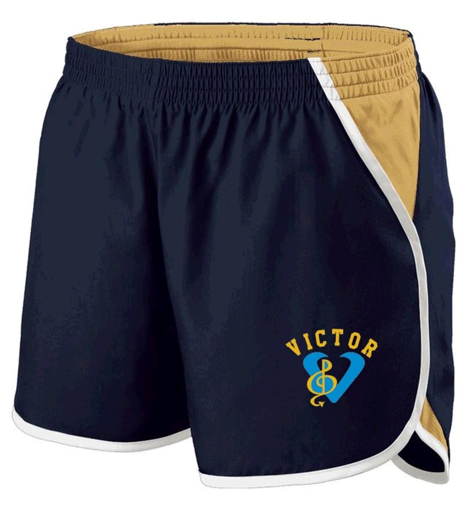 "Ladies' Shorts, 4"" Inseam w/ Printed Logo VBAND"