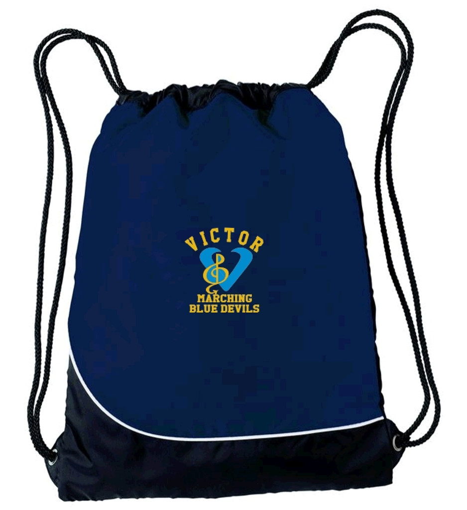 String backpack w/ embroidered logo VBAND